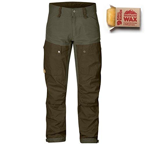fjallraven-mens-keb-trousers-regular-tarmac-dark-olive-w-greenland-wax-34wx33l