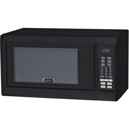Sunbeam 0.9 cu ft Digital Microwave, Black (Viking Wall Oven Parts compare prices)