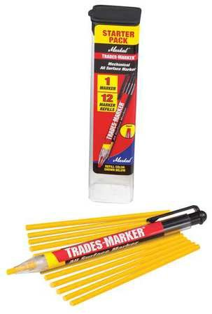 Trades-Marker All-Surface Marker, Yellow