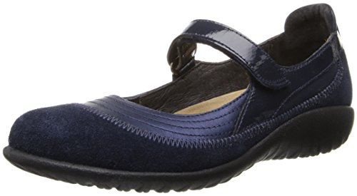 Naot Footwear Women's Kirei Mary Jane Flat - Polar Sea Le...