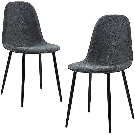 Versanora VNF 00025DG Minimalista Dining Chairs