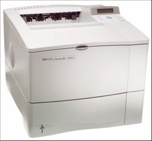 Certified Refurbished HP LaserJet 4050N C4253A Laser Printer with toner & 90-day Warranty