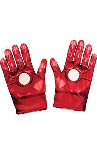 [Rubies Marvel Avengers Assemble Iron Man Gloves, Child Size] (Ironman Costumes Child)