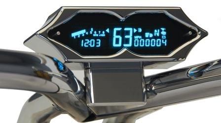 Dakota Digital Handlebar Clamp Mount for 7000 Series Speedometer/Tachometer Systems AI-272
