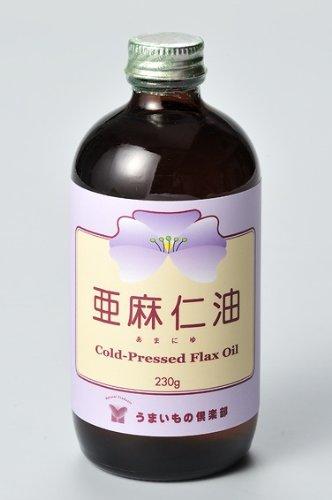 クール冷蔵便/10本セット/「亜麻仁油(フローラ社製)」(必須脂肪酸オメガ-3の補給源) B0083FHGN8