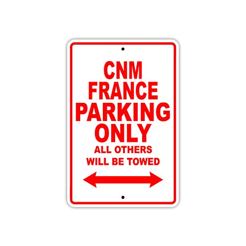 Cnm - France Parking Only All Others Will Be Towed Boat Ship Yacht Marina Lake Dock Yawl Craftmanship Metal Aluminum 8