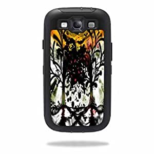 Protective Vinyl Skin Decal Cover for OtterBox Defender Samsung Galaxy S III S3 Case Sticker Skins Tree of Life...