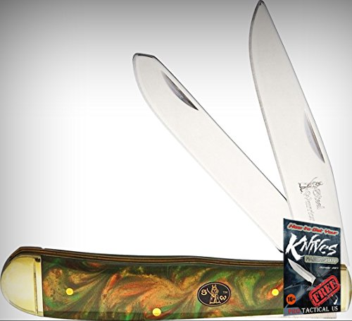 Frost Cutlery FSW108CT Steel Warrior Trapper Folding Limited Elite Knife Folder + free eBook by ProTactical'US