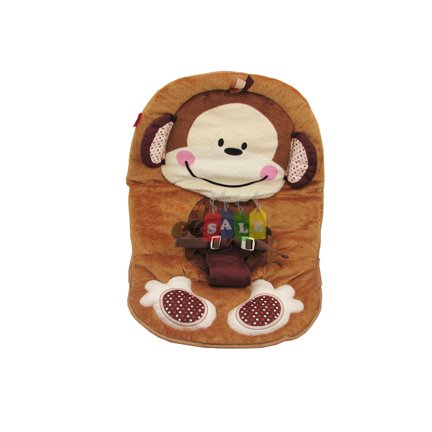 Fisher Price Replacement Bouncer Seat Pad (W9458 DELUXE MONKEY)