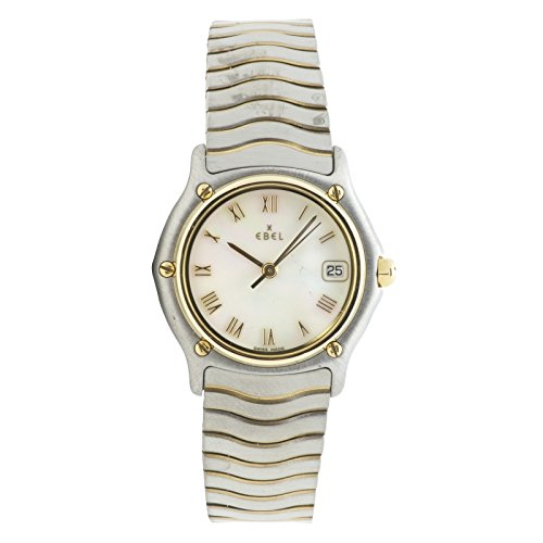 Ebel Classic Wave quartz womens Watch 1087121 (Certified Pre-owned)