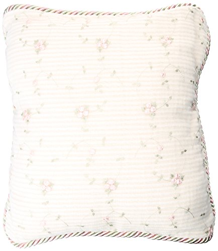 Glenna Jean Isabella Pillow, Rosebud Embroidery