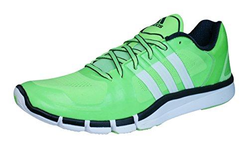 adidas M18107 - Zapatos polideportivas al aire libre para hombre verde - solar green/ftwr white/core black