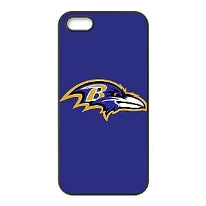 Baltimore Ravens Team Logo iPhone 5 5s Cell Phone Case Black persent zhm004_8493514