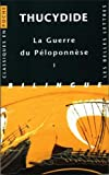 Thucydide, Guerre du Peloponnese. Tome I : Livres I et II, , 2251800050