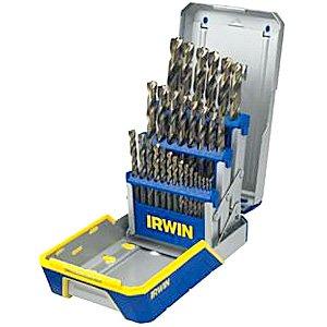 Irwin 3018006b 29 Piece Drill Bit Industrial Set Case - Industrial Bit 29 Drill Piece