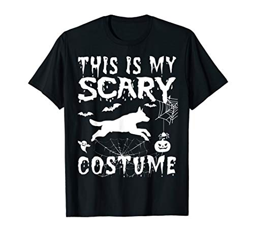 Gsd Halloween Costumes (German Shepherd Funny Halloween GSD This Is My Scary Costume)