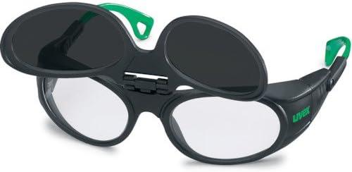 UVEX社 UVEX 二眼型遮光メガネ ウベックス 9104 遮光度#6 9104046