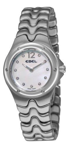 Ebel Women's 9956K21/9811 Sportwave Mother-Of-Pearl Diamond Dial Watch