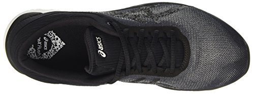 Asics Fuzex Rush, Zapatillas de Gimnasia para Hombre Gris (Midgrey/black/white)
