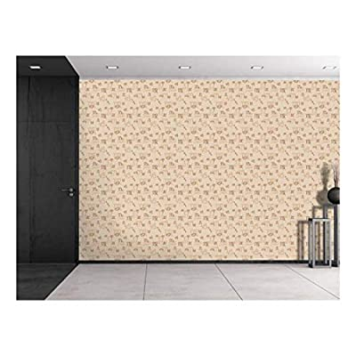 Large Wall Mural Seamless Pattern Vinyl Wallpaper Removable Decorating, it is good, Fascinating Artisanship