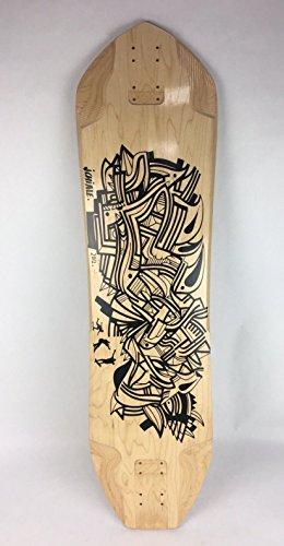 GOG SkateboardsOem Longboard Downhill Living Boards Freeride Quality Skateboard 9- ply, 9″ X 39″