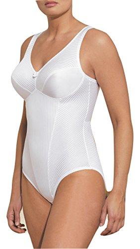 Glamorise Women's Isometric Bodysuit Briefer Shaper - 38B - White