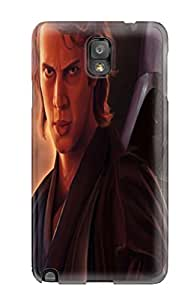 Top Quality Protection Star Wars Hayden Christensen Anakin Walker Dart Vader Lightsaber Case Cover For Galaxy Note 3