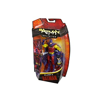 Batman Unlimited Planet X with Batmite Collector Action Figure: Toys & Games