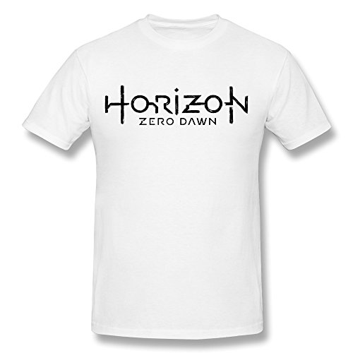 Price comparison product image PASSION Men's Horizon Zero Dawn T-shirt White M
