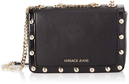 Versace Bag Ee1vsbbc3 Women's Jeans Nero Black Shoulder rnAr1