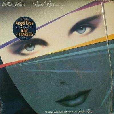 Angel Eyes, Willie Nelson, (Columbia 39363- Lp Vinyl ()