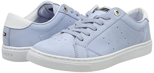 Basses Femme 1n1 Tommy V1285enus Bleu 022 chambray Hilfiger Sneaker wXvIX