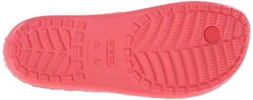 Crocs Sloanesftflrflp - Sandalias Mujer Rosso (Coral)