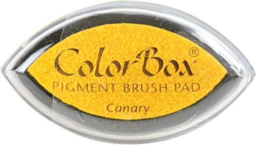 (CLEARSNAP ColorBox Pigment Cat's Eye Inkpad, Canary)