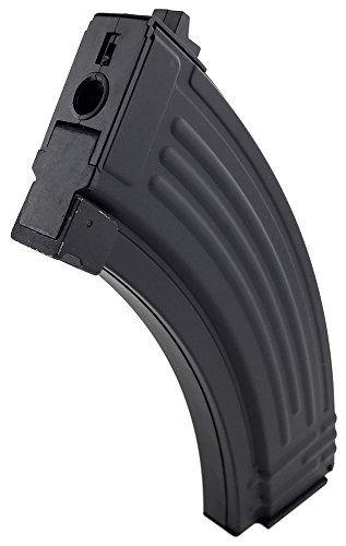 SportPro 520 Round Flash Metal High Capacity Flash Magazine for AEG AK47 AK74 Airsoft – Black