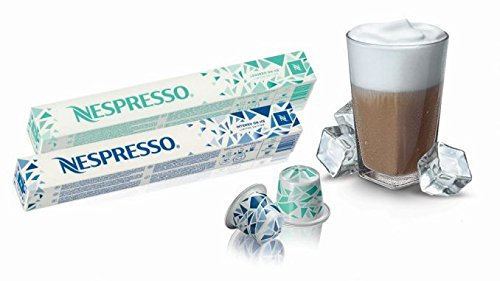 NESPRESSO Circumscribed Edition Intenso on Ice + Leggero on Ice (1 sleeve each) Total 20 capsules