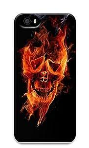 iPhone 5 5S Case Burning Skeletons Of Terror 3D Custom iPhone 5 5S Case Cover