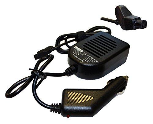 Power4Laptops DC Adapter Laptop Car Charger For Dell Latitude Xpi 133ST, Dell Latitude Xpi 75T, Dell Latitude Xpi CD, Dell Latitude Xpi CD MMX, Dell Latitude Xpi P100SD