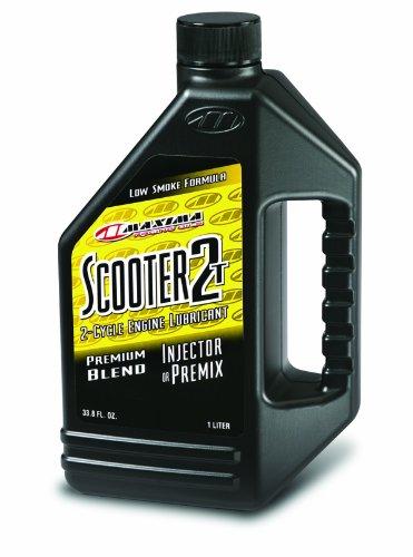 Maxima 26901 Scooter 2T 2-Stroke Premix/Injector Oil - 1 Liter Bottle