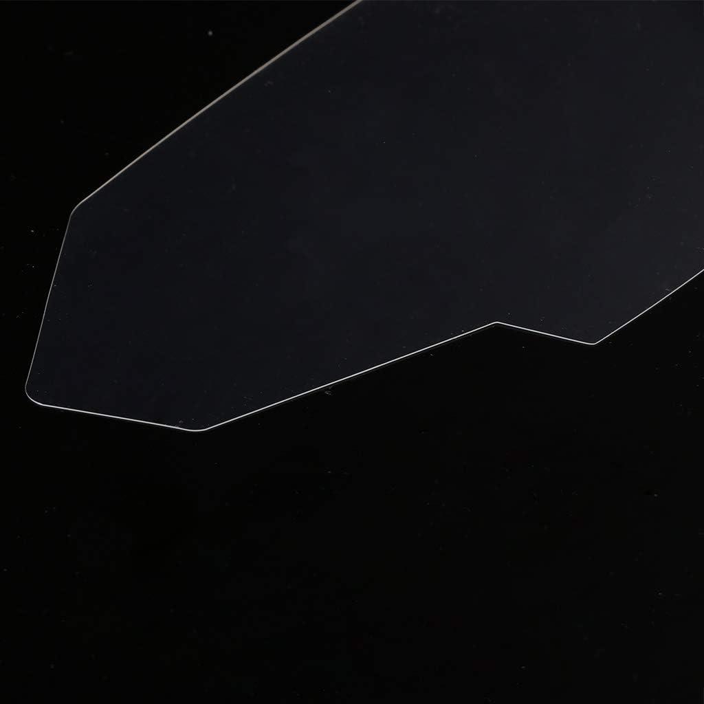 Set di 2 pellicole proteggi schermo per Kawasaki Z800 2013-2016 ZR800 ABS 2016 Z//ZR 800 JENOR