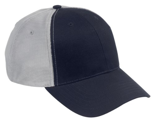 Big Accessories Bagedge (Big Accessories and BAGedge Old School Baseball Cap, NAVY/GREY, One Size)