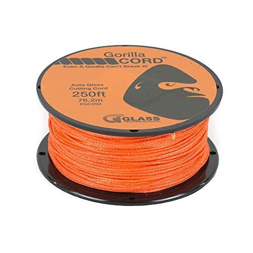 Gorilla Cord Auto Glass Cutting Line 250 ft