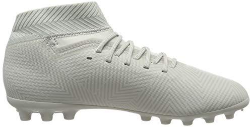 ash Niños 18 Botas Fútbol J Silver Silver white S18 Nemeziz Ag Para Adidas  Tint Gris ... 84c350ab9a096