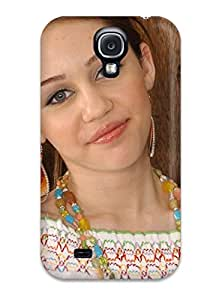 Evelyn C. Wingfield's Shop 8184293K94616940 Hot Fashion Design Case Cover For Galaxy S4 Protective Case (american Singer Miley Cyrus)