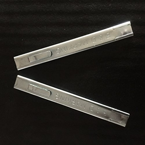 2 Steel Holders (Silver) Medium Marking Soapstone 1/16