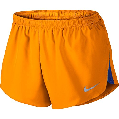 "NIKE Mens 2"" Racer Shorts - Vivid Orange"