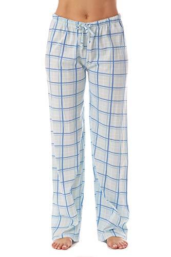 Just Love Women Plaid Pajama Pants Sleepwear 6324-BLU-10281-2X