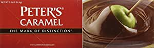 Peters Chocolate Creamy Caramel Sauce, 5 Pound