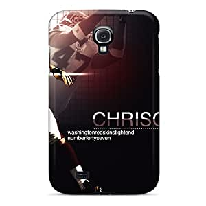 Perfect Cell-phone Hard Covers For Samsung Galaxy S4 With Unique Design Lifelike Washington Redskins Pictures DrawsBriscoe