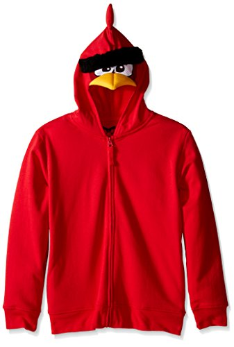 Angry Birds Boys' Big Bird Costume Hoodie, Red, X-Large/18]()